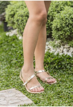 Lavish Sandals Light Gold