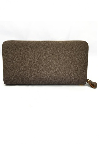 Lucky JX brown Strong Long Wallet 65647AC76A81BBGS_1