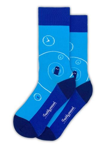Freshly Pressed Socks blue Freshly Pressed The Doctor 744A7AA4AB36BBGS_1