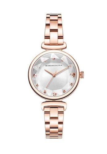 BCBG gold BCBGMAXAZRIA Rose Gold Watch 4D7D4AC0622A07GS_1