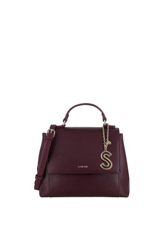 SEMBONIA red Top-Handle Satchel Bag 9684AAC9B2D916GS_1