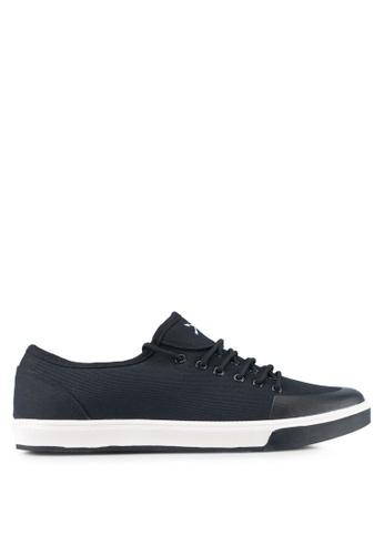 JAXON black Canvas Sneakers ACCDESH0A09A7FGS_1
