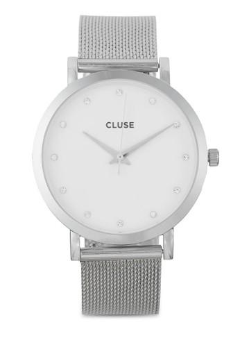 Pavane 不銹鋼網眼錶帶手錶, 錶類esprit 香港, 不銹鋼錶帶