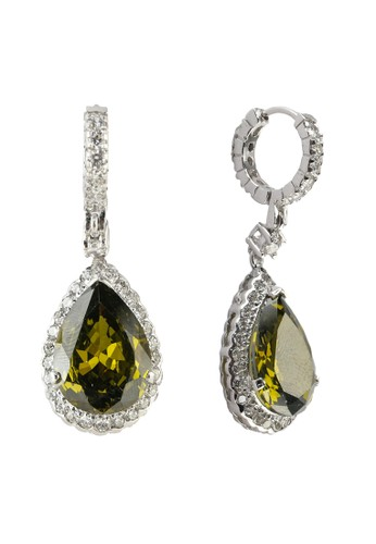 Celline Silver green Olive Cubic Zirconia 85A3BAC5DFC044GS_1