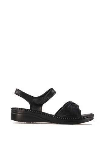 BETTINA black Bettina Sandal Jacqui - Black BE073SH67AUIID_1