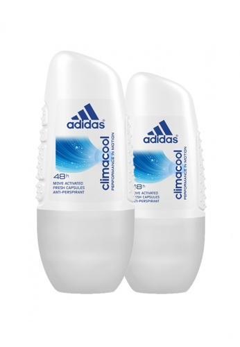 Adidas Fragrances Adidas Climacool Anti-Perspirant Roll-on for Her 40ml x 2 D6DC8BEB5D8F72GS_1