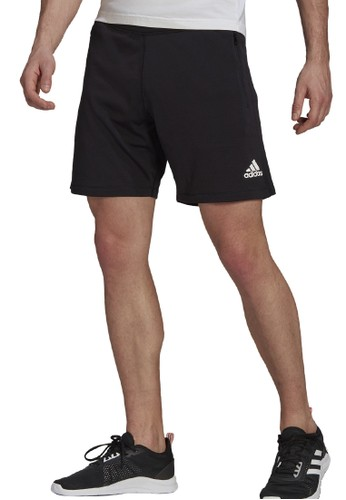ADIDAS black men d2m seamless short F1ECAAAAA53A23GS_1