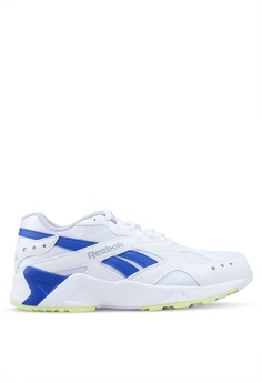 sports shoes 4aad3 29bcc Reebok white and multi Classic Aztrek 90 s Shoes B9933SHB461193GS 1