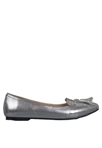 Beauty Shoes silver Saviola Beauty Flat Silver BE516SH79ABWID_1