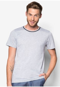 Basic Tee with Neck Outline