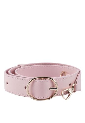 Pop & Suki pink Wide Fanny Strap 6B164AC11B9938GS_1