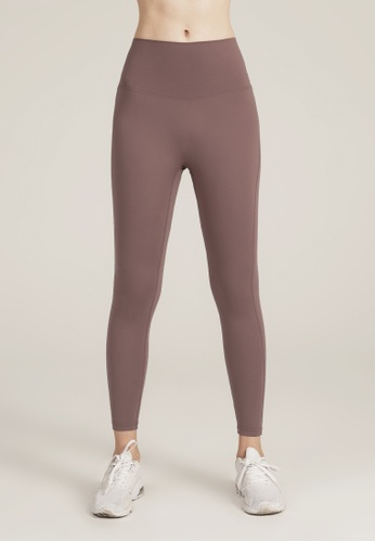 HAPPY FRIDAYS Nude Yoga Cropped Tights (No front crotch  line) DSG524 B502DAAC410770GS_1