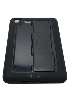 Slim Heavy Duty Shockproof Case with Stand for iPad 2/3/4 (Black)