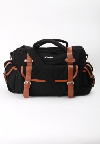 Pulcher Crux Black Gym Bag - Sling Bag - Sport Bag- Laptop Sleeve - Unisex - Waterproof