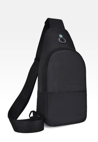 Jackbox black Korean Men's Two Tone Head Set Messenger Bag 355 (Black) 86BDEAC360666AGS_1