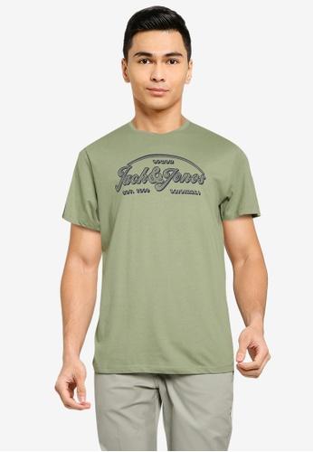 Jack & Jones green Brians Tee 30517AA12752DDGS_1