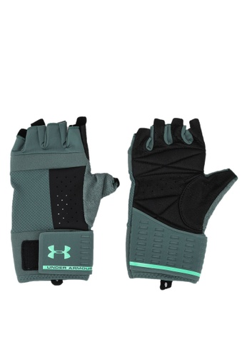 Under Armour green UA Men's Weightlifting Glove B9B71AC9FCACCEGS_1
