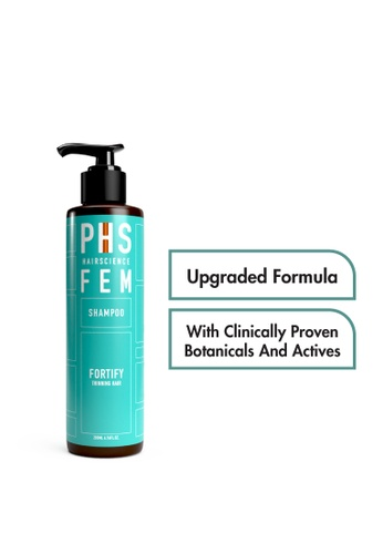 PHS HAIRSCIENCE PHS HAIRSCIENCE FEM Fortify Shampoo (For Female Seasonal/Temporary Hair Loss and Thinning) 200ml PH462BE0FAKJSG_1