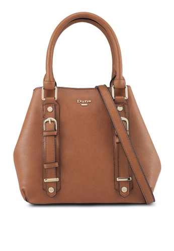 Dune London brown Small Top Handle Bag A7A32ACB779AA3GS_1