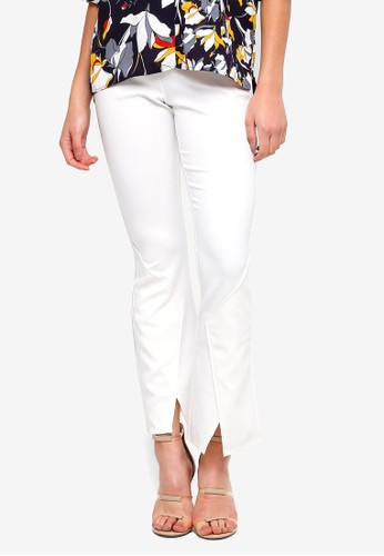 Lavish Alice multi Fitted Bell Bottom Trousers CC3AFAA6A111C4GS_1