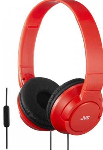 JVC red JVC HA-SR185 Lightweight Headphones -RED 07F49ES5139512GS_1