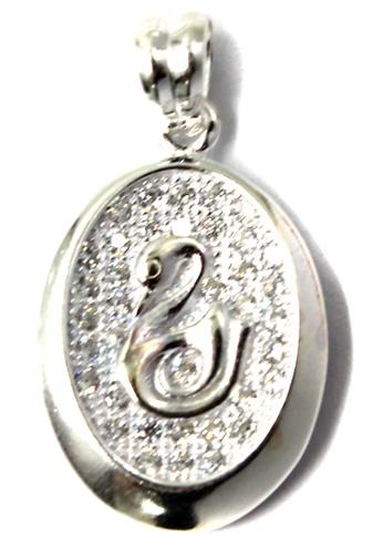 Venice Jewelry silver Bella Swan Pendant VE564AC67ZEIPH_1
