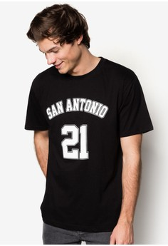 San Antonio #21 Basketball T-Shirt