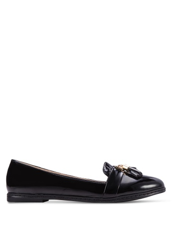 ZALORA black Tassel Loafers ADMBOSH0000019GS_1