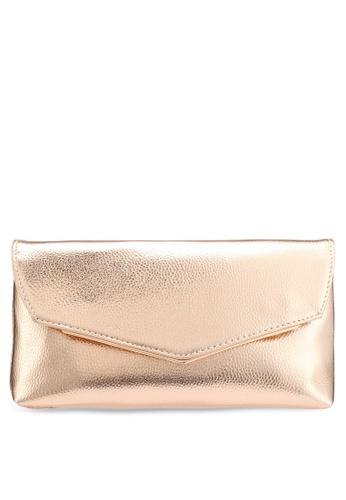 c3c557db0e6a7c Buy Dorothy Perkins Rose Gold Metal Bar Clutch Online on ZALORA ...