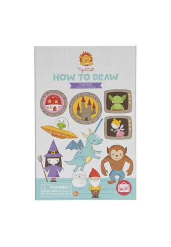 Tiger Tribe How To Draw - Fantasy 86234THBF30205GS_1