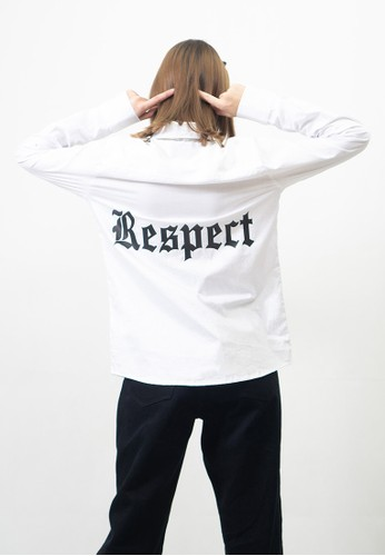 Ocwa Studio white OCWA OVERSIZED SHIRT RESPECT WHITE 06EADAAB5C30DEGS_1