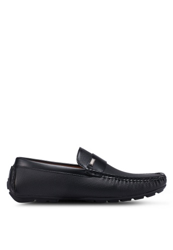 Bata black Slide-On Loafers C2AEDSH621A6D6GS_1