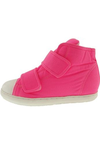Maxstar Maxstar Women's 203 Dual Velcro Hidden Heel Canvas Casual Shoes US Women Size MA168SH56CADHK_1