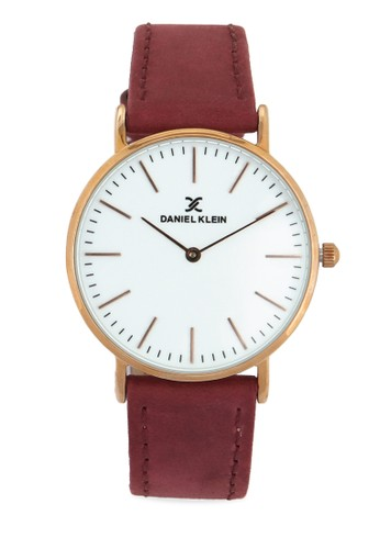 Daniel Klein white Jam Tangan Wanita DK10845-6 Genuine Leather 5567AACDC61527GS_1