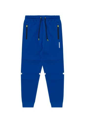 Fingercroxx blue Space Mission joggers FE496AA7BAE61EGS_1