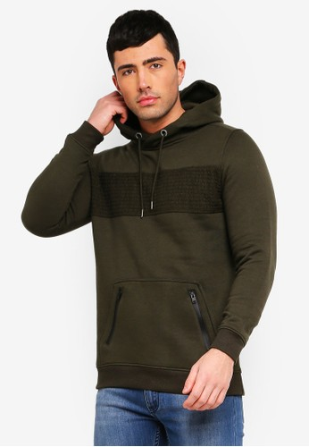 Brave Soul green Crossover Neck Sweatshirt 2FBBEAA7504810GS_1