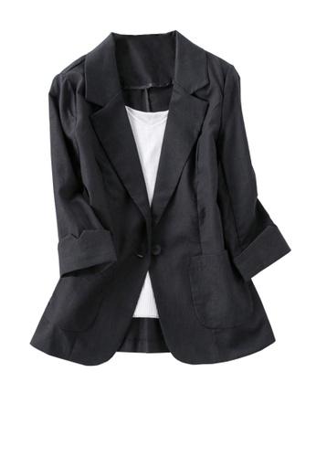 Twenty Eight Shoes 黑色 VANSA  時尚西裝款式外套  VCW-CX001 FBC46AA28D44E8GS_1