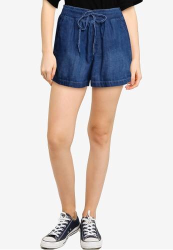 GAP blue Pull On Shorts 50B71AAB4EFD8AGS_1
