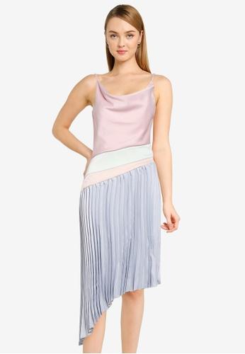 CHI CHI LONDON multi Chi Chi Petite Moxxie Dress 086C6AA34E8C5FGS_1