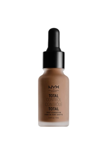 NYX Professional Makeup brown NYX Professional Makeup Total Control Drop Foundation - SIENNA D8295BE824FB13GS_1