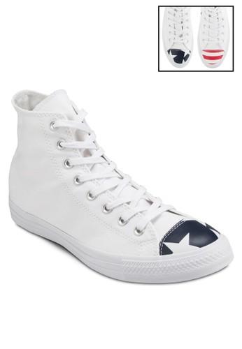 Chuck Taylor All Star 美式特別版高筒休esprit sg閒鞋, 女鞋, 鞋