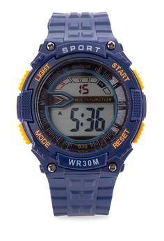 Unisex Rubber Strap Watch MXPO-636A