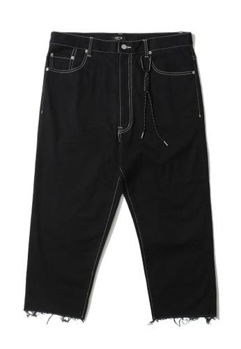 Fivecm black Carabiner detail culotte pants 9157BAA460FC65GS_1
