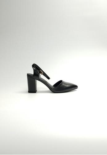 Lara black Women Black Heels 6DAE9SHA64A426GS_1