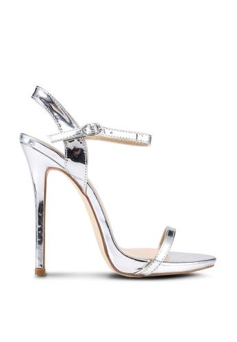 Bebo silver Sparra Heels 75F82SH85122A6GS_1