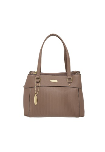 British Polo brown British Polo Buster Shoulder Bag 92A44AC8B1CE70GS_1
