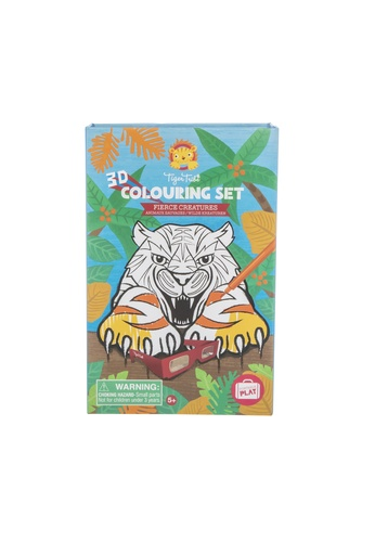 Tiger Tribe 3D Colouring Set - Fierce Creatures 6847FTH1BFE3E4GS_1