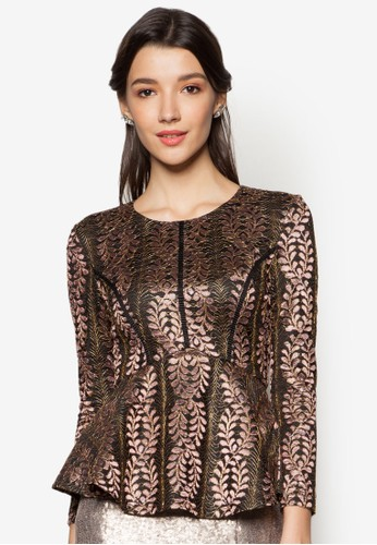 Lace Pieced Pepzalora 男鞋 評價lum Top, 服飾, 上衣