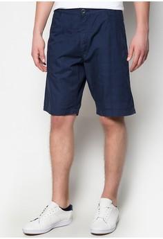 Ash Dobby Navy Shorts