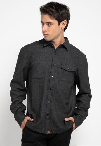 Obermain grey Curious Shirt 9FD2EAA37826A7GS_1